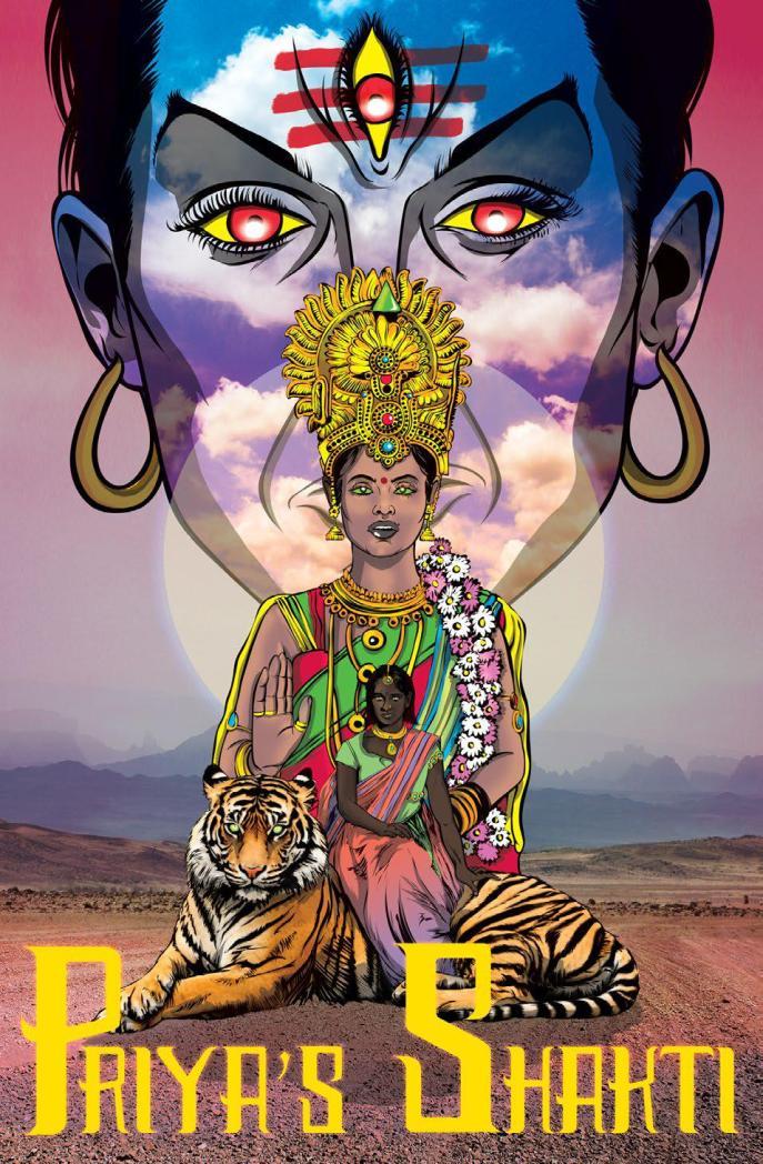 Pryas comic cover